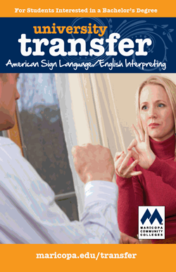 American Sign Language/ English Interpreting