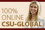 ad for Colorado State University Global